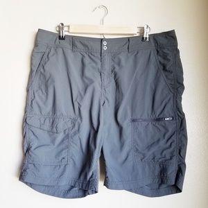 Dark Gray Columbia Womens Shorts size 16